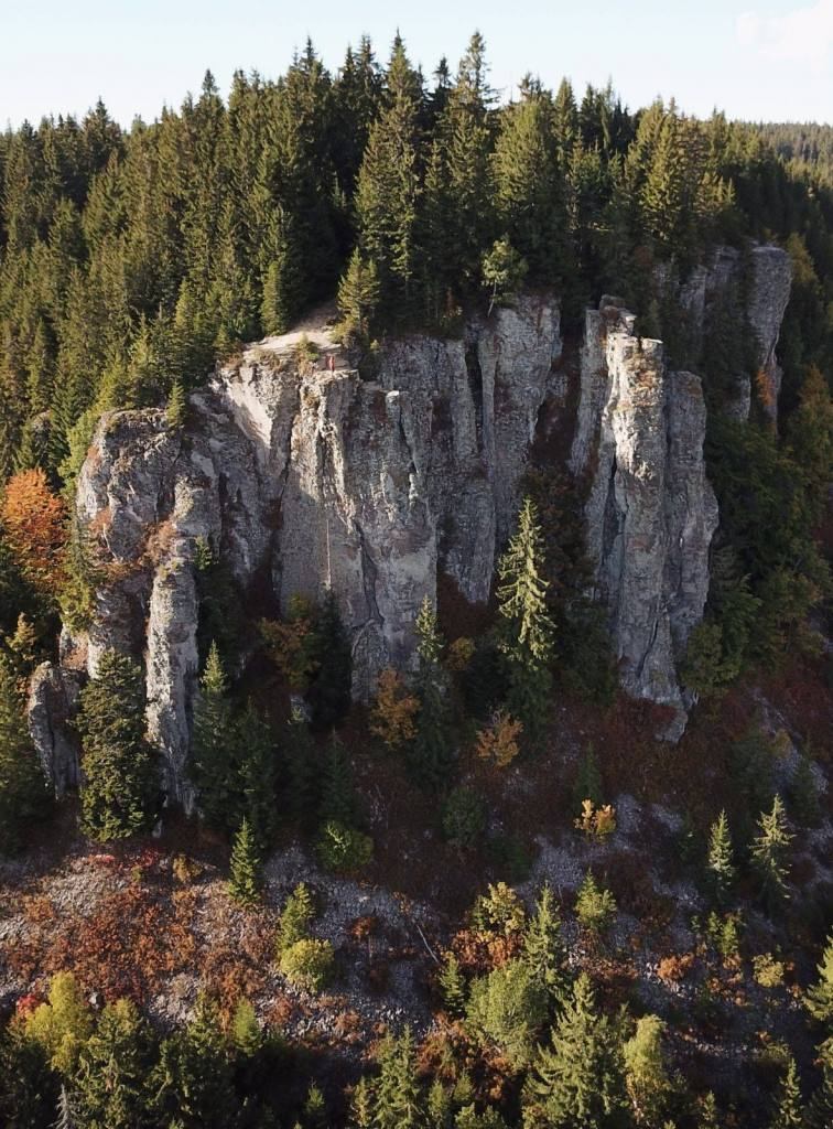 az Istenszéke sziklái