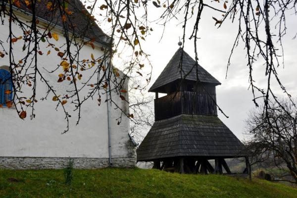 Nyárádszentimre-i harangláb -  Fotó: Kerekes Péter Pál